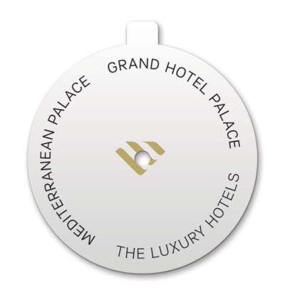 Xάρτινο κάλυμμα κεριού - The Luxury Hotels