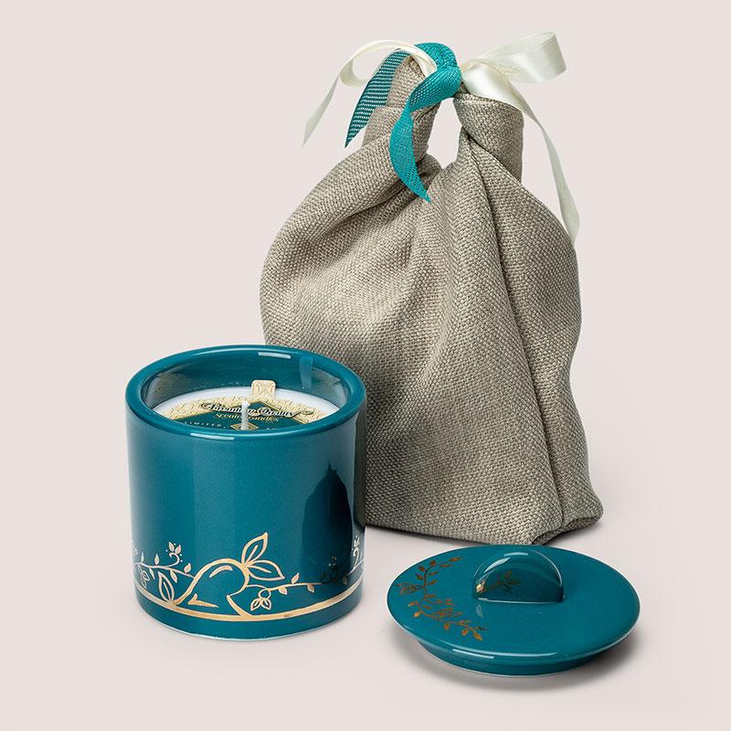 Ελληνικά χειροποίητα κεραμικά με φυτικό αρωματικό κερί